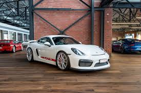 porsche cayman white 2016 porsche cayman gt4 richmonds classic and prestige cars