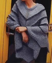 ponchos a palillo ponchos tejidos a dos agujas como tejer un poncho de lana
