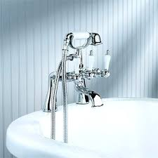 Clawfoot Tub Faucet With Shower Shower Head 53609 2 Double Function Shower Set Torneira 8 Abs