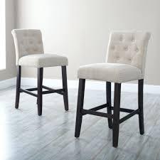 kitchen bar stools modern white tufted counter height bar stools for modern kitchen decor