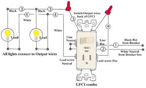 combo switch outlet wiring diagram with leviton combination and