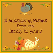 Happy Thanksgiving Family Thanksgiving Wishes Thanksgiving Wishes Thoughts Sayings