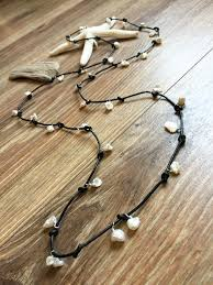 leather necklace knot images Pearl leather knot necklace keshi pearls wire wrapped on leather jpg