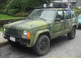 jeep military file tuned military jeep xj cherokee jpg wikimedia commons