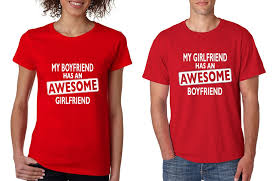 valentines day t shirts awesome awesome boyfriend shirts valentines day