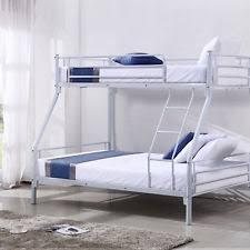 Metal Bunk Bed Frame Modern Metal Bunk Beds Frames Ebay