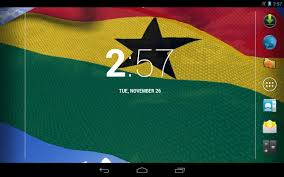3d ghana flag live wallpaper android apps on google play