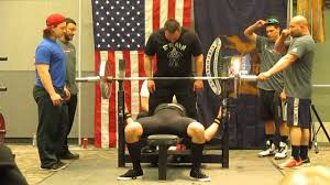 big mike power lifting adam conrad 286 lbs raw bench press youtube