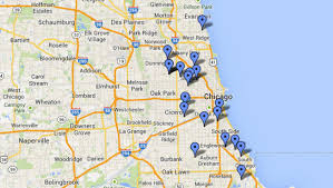 chicago map shootings 4 dead 23 wounded in weekend shootings nbc chicago