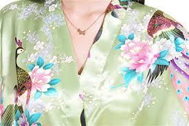 femme de chambre wiki surenow robe de chambre de femme motif exotique paon fleur kimono