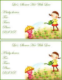 free printable baby shower invitations for girls horsh beirut