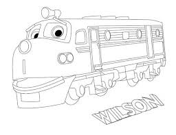 wilson from chuggington coloring page download u0026 print online