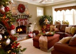 Christmas Decorations For Fireplace Mantel Living Room Christmas Decorations Double White Candles White