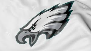 Flag Of Philadelphia Close Up Of Waving Flag With Philadelphia Eagles Nfl American