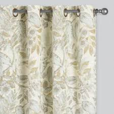Citrine Curtains Multicolored Corinne Concealed Tab Top Curtains Set Of 2 World