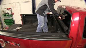 Bed Cover by Installation Of An Access Roll Up Tonneau Cover On A 2010 Ford F
