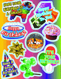 birthday stickers happy birthday party stickers found here selection