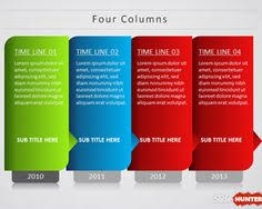 timeline graph template for powerpoint presentations reports