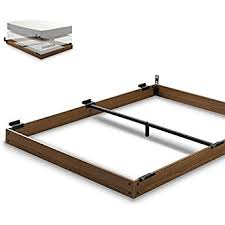 Wooden Beds Frames Zinus 5 Inch Wood Bed Frame For Box Mattress