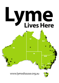 Lyme Disease Map The May Lyme Project Archive Lyme Disease Association Of Australia