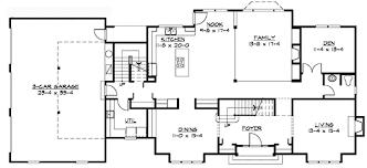 colonial floor plans plan 23309jd traditional colonial home plan colonial bonus