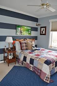 Bedroom Painting Ideas Best 25 Blue Striped Walls Ideas On Pinterest Boys Bedroom