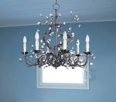 Crystal And Bronze Chandelier C188 2649 Hamilton Home Oil Rubbed Bronze Finished Single Tier