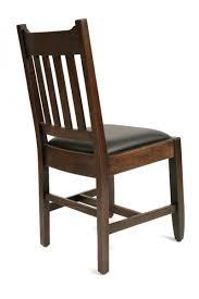 Mission Oak Dining Chairs 6 Mission Oak Dining Chairs Red Modern Furniture
