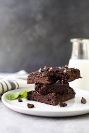 fudgy flourless pumpkin brownies easy healthy recipes using real