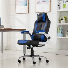 High Back Leather Recliner Chair Belleze High Back Ergonomic Pu Leather Racing Chair Onebigoutlet Com