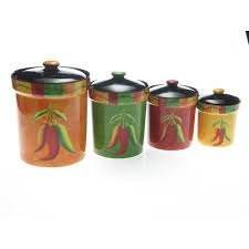 kitchen canisters set of 4 kitchen canister sets