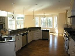 Kitchen Island With Sink And Dishwasher by Kitchen Island With Sink And Dishwasher Angled Around Floor From