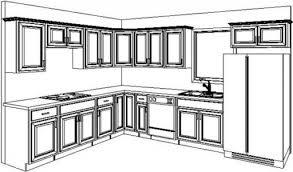 kitchen design sketch free kitchen cabinet layout plans 000 b