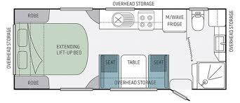 Jayco Caravan Floor Plans Jayco Starcraft Caravan 19 61 2 Eastern Caravans