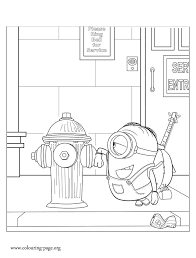 1218 coloring pages minion images coloring