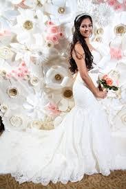 wedding backdrop rentals houston glo paper flowers pink paper flower wall pink paper flower wall