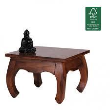 Wohnzimmer Tische G Stig Kaufen Wohnling Couchtisch Opium Massiv Holz Sheesham 60 Cm Breit