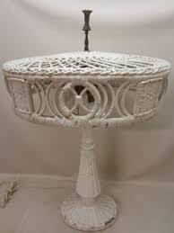 Rattan Table Lamp Wicker Table Lamp Foter