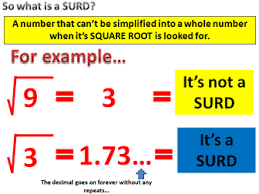 surds by martinpk teaching resources tes