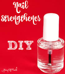 diy nail strengthener mom off track
