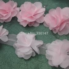 flowers for headbands lot chiffon flowers for headbands wedding decoration fabric