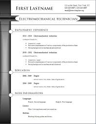 The Best Resume Examples by Free Resume Template U2013 Freecvtemplate Org