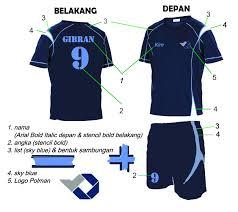 desain kaos futsal jepang kim liong design kostum futsal polman negeri babel
