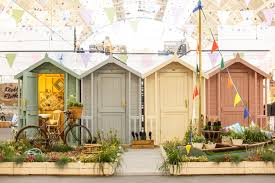 win a beach hut inspired southwold shed from the posh shed company