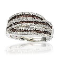 chocolate wedding rings chocolate cubic zirconia rings chocolate cz fashion jewelry ebay
