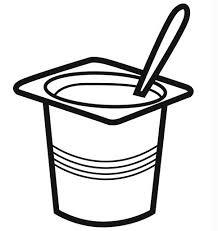free coloring pages frozen yogurt clipart image 37076
