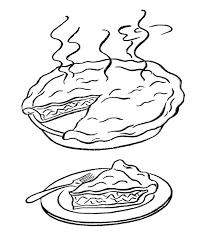coloring pages pumpkin pie pie coloring pages getcoloringpages com