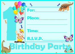 Mickey Mouse Invitation Cards Printable Invitation Card 1st Mickey Mouse And Animals Printable Birthday