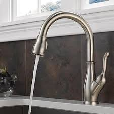 Kitchen Faucet Amazon Delta Faucet 9178 Ar Dst Leland Single Handle Pull Down Kitchen