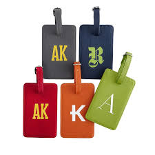 colorfield luggage tag and graham